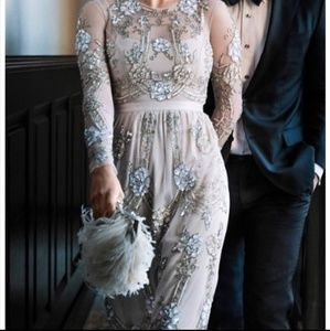 BHLDN Needle and Thread Sequin Wedding Dress